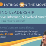 Join Juana Bordas award-winning author of The Power of Latino Leadership: Culture, Inclusion, and Contribution and Salsa, Soul and Spirit: Leadership for a Multicultural Age in a discussion on how Latinos are transforming America – with their inclusive values, political engagement, and entrepreneurial spirit.